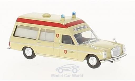 Mercedes /8 1/87 Brekina Malteser Krankenwagen miniature