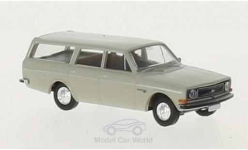 Volvo 145 1/87 Brekina Kombi grise miniature