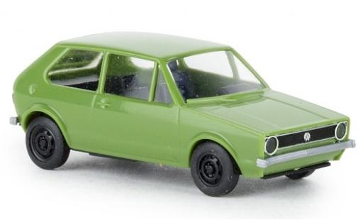Volkswagen Golf 1/87 Brekina I green 1974 diecast
