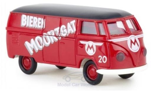 Volkswagen T1 1/87 Brekina a Kasten Bieren Moortgat miniature