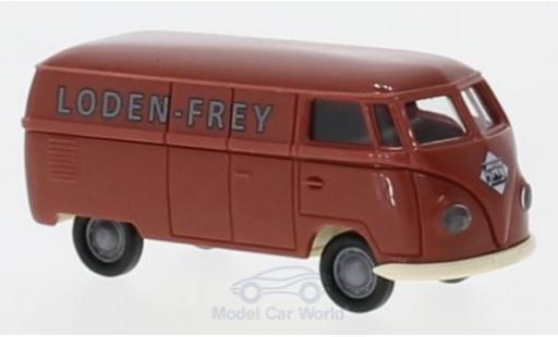 Volkswagen T1 A 1/87 Brekina a Kasten Loden Frey modellautos