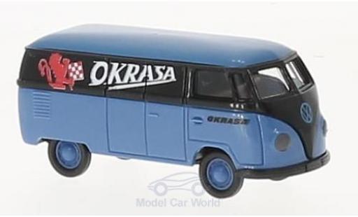 Volkswagen T1 A 1/87 Brekina a Kasten Okrasa modellautos