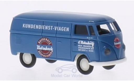 Volkswagen T1 B 1/87 Brekina a Rutenbeck Kasten modellautos
