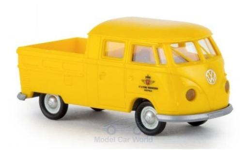 Volkswagen T1 1/87 Brekina b Doka Statens Vegvesen 1960 modellautos