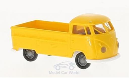 Volkswagen T1 B 1/87 Brekina b jaune Pritsche miniature