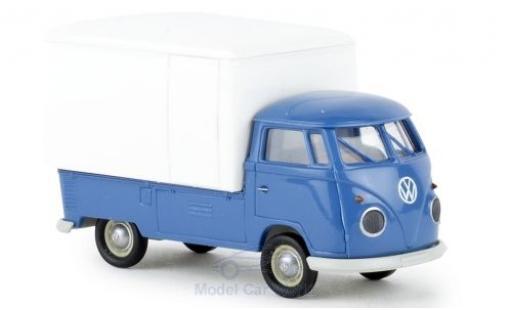 Volkswagen T1 1/87 Brekina b Großraum-Koffer blue/white 1960