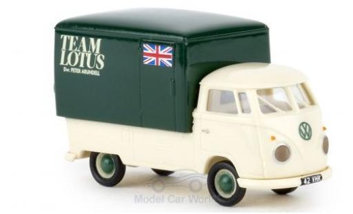 Volkswagen T1 1/87 Brekina b Großraum-Koffer Team Lotus 1960 diecast