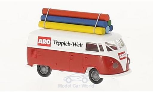 Volkswagen T1 B 1/87 Brekina b Kasten ARO Teppichwelt mit Teppichrollen miniature