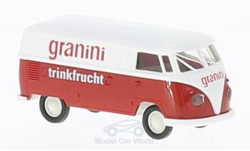 Volkswagen T1 B 1/87 Brekina b Kasten Granini miniature