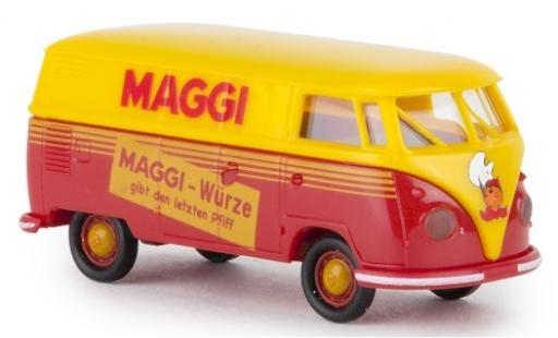 Volkswagen T1 1/87 Brekina b Kasten Maggi Würze 1960 miniature