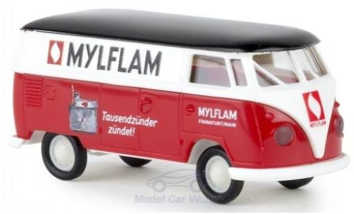 Volkswagen T1 1/87 Brekina b Kasten Mylflam modellautos
