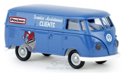Volkswagen T1 1/87 Brekina b Kasten Poclain miniature