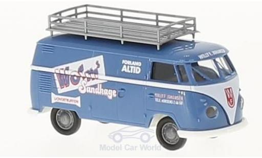 Volkswagen T1 1/87 Brekina b Kasten Worms Sandkage modellautos