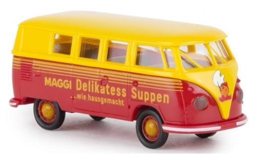 Volkswagen T1 1/87 Brekina b Kombi Maggi Suppen 1960 miniature