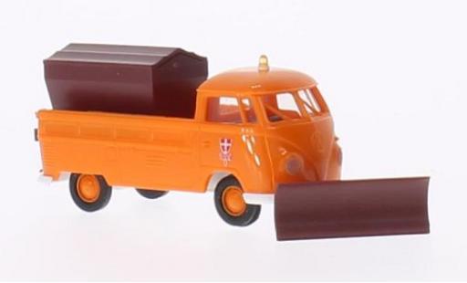 Volkswagen T1 1/87 Brekina b Pritsche Winterdienst der Stadtwerke Wien (A) miniature