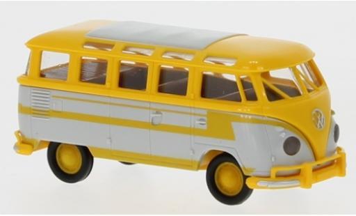 Volkswagen T1 1/87 Brekina b Samba yellow/grey 1960 autocar -Décorer diecast model cars