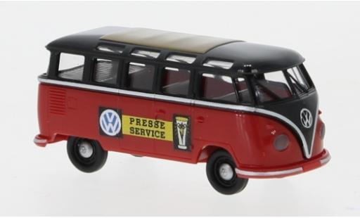 Volkswagen T1 1/87 Brekina b Samba Presseservice 1960 modellautos