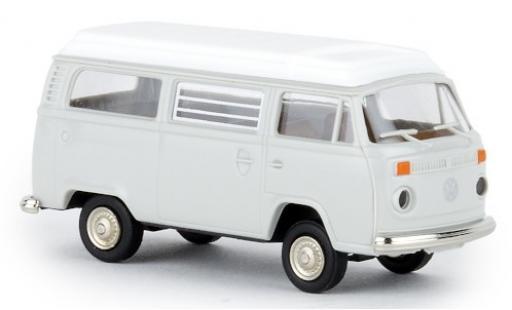 Volkswagen T2 1/87 Brekina Camper grise 1972 avec Aufstelldach