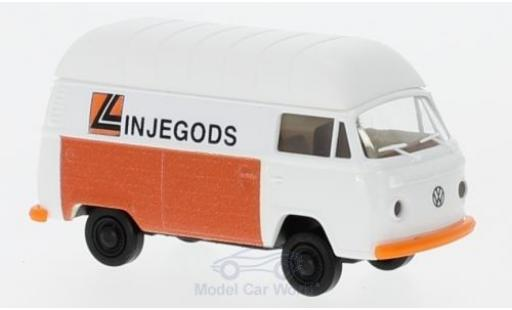 Volkswagen T2 A 1/87 Brekina Hochdach-Kasten Linjegods (NO) diecast model cars
