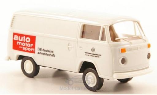 Volkswagen T2 1/87 Brekina Kasten Auto Motor und Sport miniature