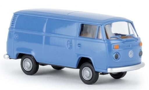 Volkswagen T2 1/87 Brekina Kasten bleue 1972 miniature