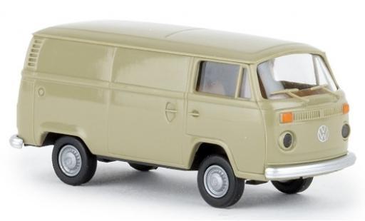 Volkswagen T2 1/87 Brekina Kasten grise 1972 miniature