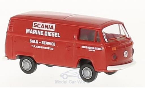 Volkswagen T2 A 1/87 Brekina Kasten Scania Service miniature