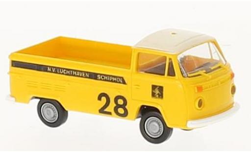 Volkswagen T2 1/87 Brekina Pritsche Luchthaven Schipol (NL) miniature
