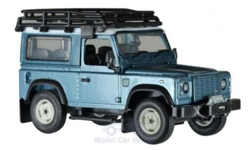 Land Rover Defender 1/32 Britains métallisé bleue miniature