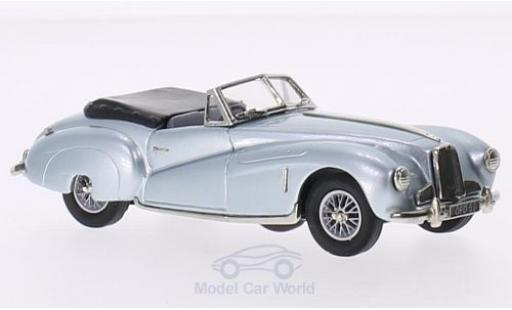 Aston Martin DB1 1/43 Brooklin metallise bleue RHD 1948 miniature