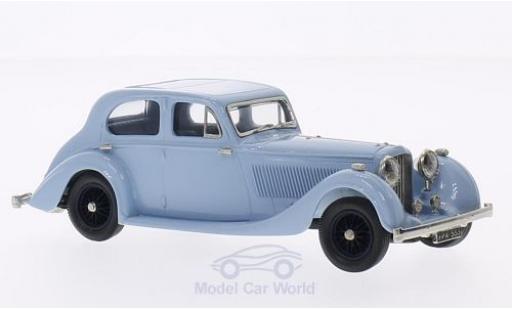 Bentley 4.5 1/43 Brooklin 4 1/4 Litre 4-door Barker bleue 1936 miniature