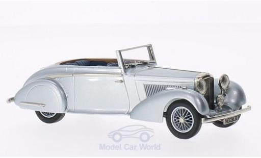 Bentley 4.5 1/43 Brooklin 4 1/4 Litre CHD H.J.Mulliner grise 1936 miniature