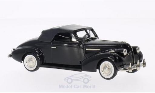 Buick Century 1/43 Brooklin Convertible Coupe M66-C noire 1939 miniature