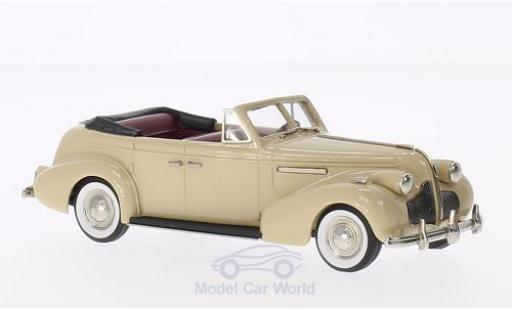 Buick Century 1/43 Brooklin Convertible Phaeton M61-C beige 1939 miniature