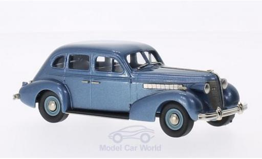 Buick Special 1/43 Brooklin Plain Back 4-door Sedan M-47 metallise bleue 1937 miniature