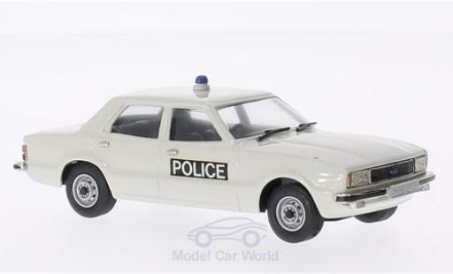 Ford Cortina 1/43 Brooklin MKIV Essex Police white 1976 diecast model cars