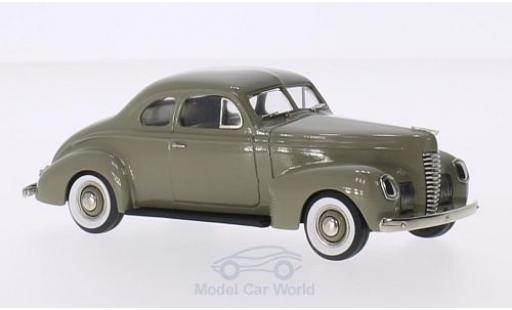 Nash Ambassador 1/43 Brooklin Eight 2-Door Coupe beige 1939 miniature