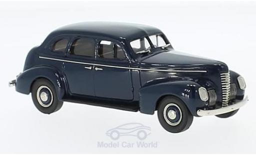 Nash Ambassador 1/43 Brooklin Eight 4-Door Sedan bleue 1939 miniature
