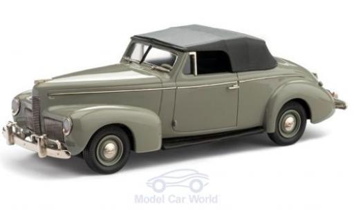 Nash Ambassador 1/43 Brooklin Eight Convertible grise 1940 miniature