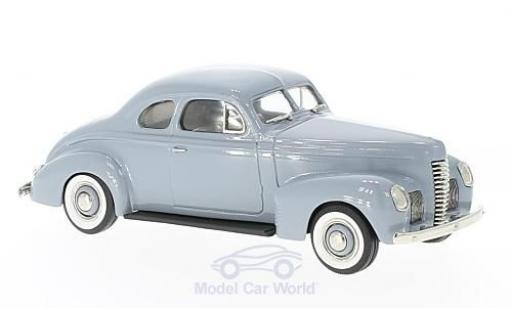 Nash Ambassador 1/43 Brooklin Eight Two-Door Coupe grise 1939 miniature