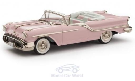 Oldsmobile Super 88 1/43 Brooklin 2-Door Convertible rose 1957 miniature