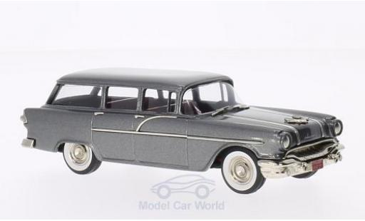 Pontiac Chieftain 1/43 Brooklin 860 Station Wagon metallic-dunkelgrise 1956