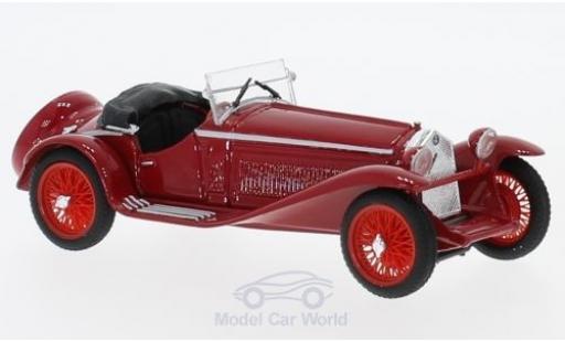 Alfa Romeo 1750 1/43 Brumm GS Zagato rouge RHD 1931 miniature