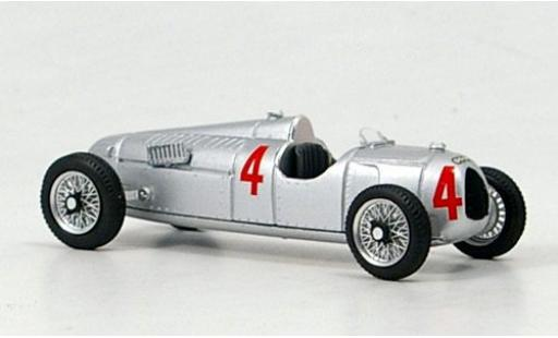Auto Union Typ C 1/43 Brumm No.4 GP Nürburgring 1936 diecast model cars