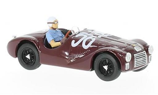 Ferrari 125 1/43 Brumm S RHD No.56 GP Rom 1947 La Vittoria Assoluta 70. Anniverary F.Cortese diecast model cars