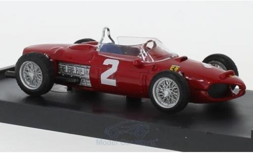 Ferrari 156 1/43 Brumm No.2 Formel 1 GP Italien 1961 P.Hill miniature