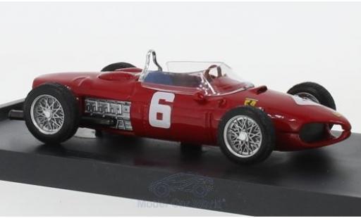 Ferrari 156 1/43 Brumm No.6 Formel 1 GP Italien 1961 R.Ginther miniatura