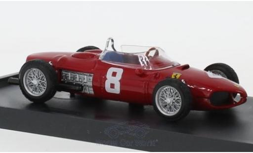 Ferrari 156 1/43 Brumm No.8 Formel 1 GP Italien 1961 P.Rodriguez miniature