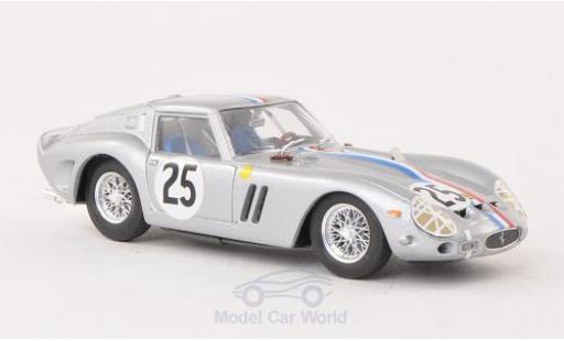 Ferrari 250 1/43 Brumm GTO No.25 National-Team Belgium 24h Le Mans 1963 Chassis 4153GT miniature