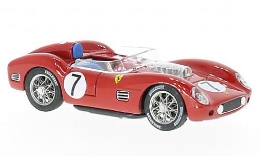 Ferrari 250 1/43 Brumm TR59 RHD No.7 12h Sebring 1959 D.Gurney/C.Daigh miniature